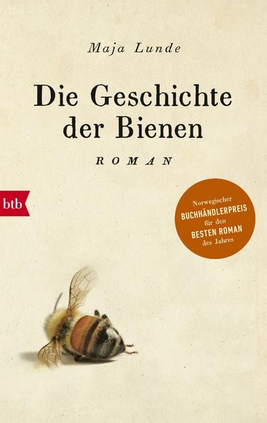 Cover eines Buches mit toter Biene